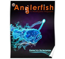 The Anglerfish Issue 8 - Anglerfish Patronus Poster