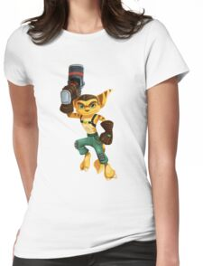 Old Skool Ratchet Womens Fitted T-Shirt
