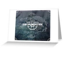 Order of the White Lotus Greeting Card