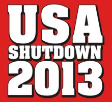 USA Shutdown 2013 by CarbonClothing