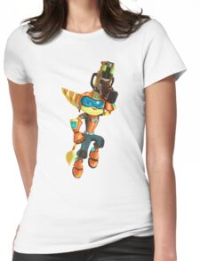 Q-Force Ratchet Womens Fitted T-Shirt