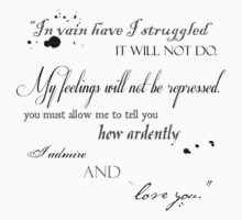 Mr. Darcy Quote by calvingreg09