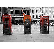Telephone Trio Photographic Print