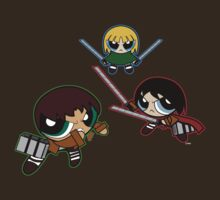 Powerpuff no Kyojin by MoBo