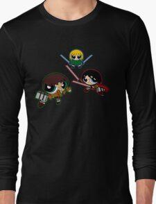 Powerpuff no Kyojin Long Sleeve T-Shirt