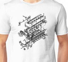 TC24-B1 Exploded View Unisex T-Shirt