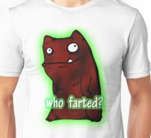 cute monster farted Unisex T-Shirt