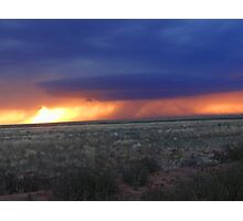 Brewing Storm Photographic Print