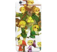 Legend of Zelda Link Collage iPhone Case/Skin