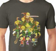 Legend of Zelda Link Collage Unisex T-Shirt