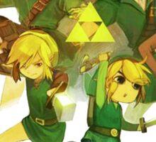 Legend of Zelda Link Collage Sticker