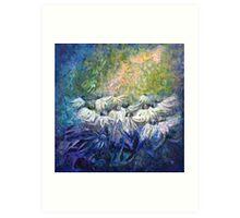 Angels among us... Art Print