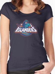 new york islanders Women's Fitted Scoop T-Shirt