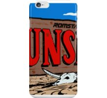 Gunsmoke Arcade iPhone Case/Skin