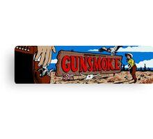Gunsmoke Arcade Canvas Print