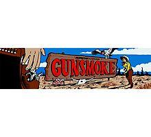Gunsmoke Arcade Photographic Print