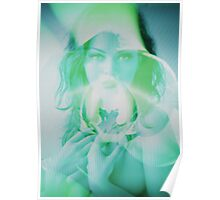 6523a Orchid Goddess Poster