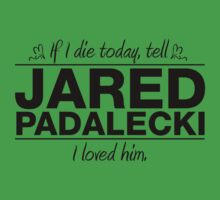 "Jared Padalecki - ""If I Die"" Series (Black) by huckblade"