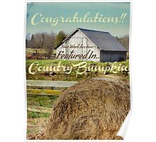 Country Bumpkin banner Poster