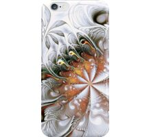 Silver Waves iPhone Case/Skin