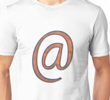 At sign Unisex T-Shirt