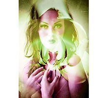 6526r Orchid Goddess Photographic Print