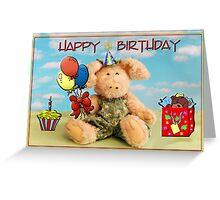 Happy Birthday Penelope Piglet Greeting Card