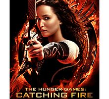 Catching Fire Poster by redplaiddress