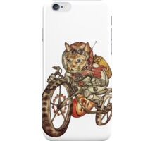 Berserk Steampunk Motorcycle Cat iPhone Case/Skin