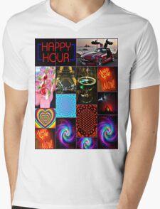 happy hour Mens V-Neck T-Shirt