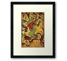 Any Means Necessary Framed Print