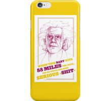 BACK TO THE FUTURE- DOC BROWN iPhone Case/Skin