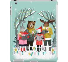 Woodland Christmas Carols by Andrea Lauren  iPad Case/Skin