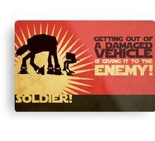 SOLDIER! Metal Print