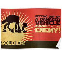SOLDIER! Poster
