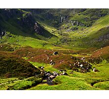 Corrie Fee, Glen Clova. Photographic Print