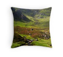 Corrie Fee, Glen Clova. Throw Pillow