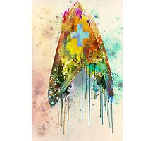 Star Trek Medical Ensignia Photographic Print