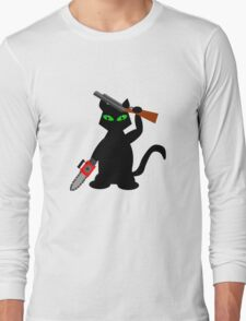 Kitty of Darkness Long Sleeve T-Shirt
