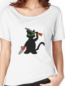 Kitty of Darkness Women's Relaxed Fit T-Shirt