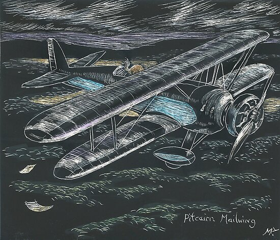 Pitcairn Mailwing by maria paterson