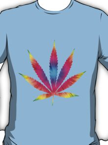 Rainbow Pot Leaf T-Shirt