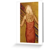 Little Red Dress Greeting Card