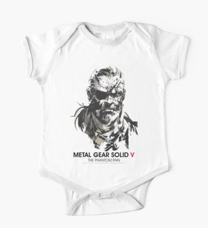 Metal gear Solid V One Piece - Short Sleeve