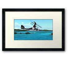 U.S. Air force V-22 Osprey Framed Print