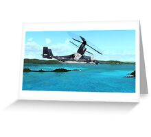 U.S. Air force V-22 Osprey Greeting Card
