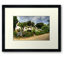 The Roseland Inn  Framed Print