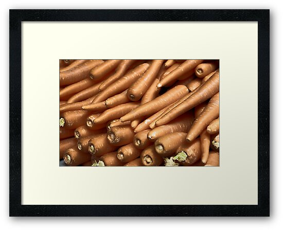 Gold Carrots  by Melissa Dickson