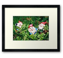 Dwarfs Framed Print