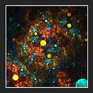 """Celestial Gumballs"" (6x4 card version) by Zero Dean"